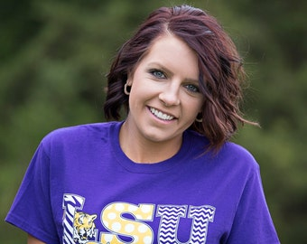 LSU Tigers Purple T-Shirt