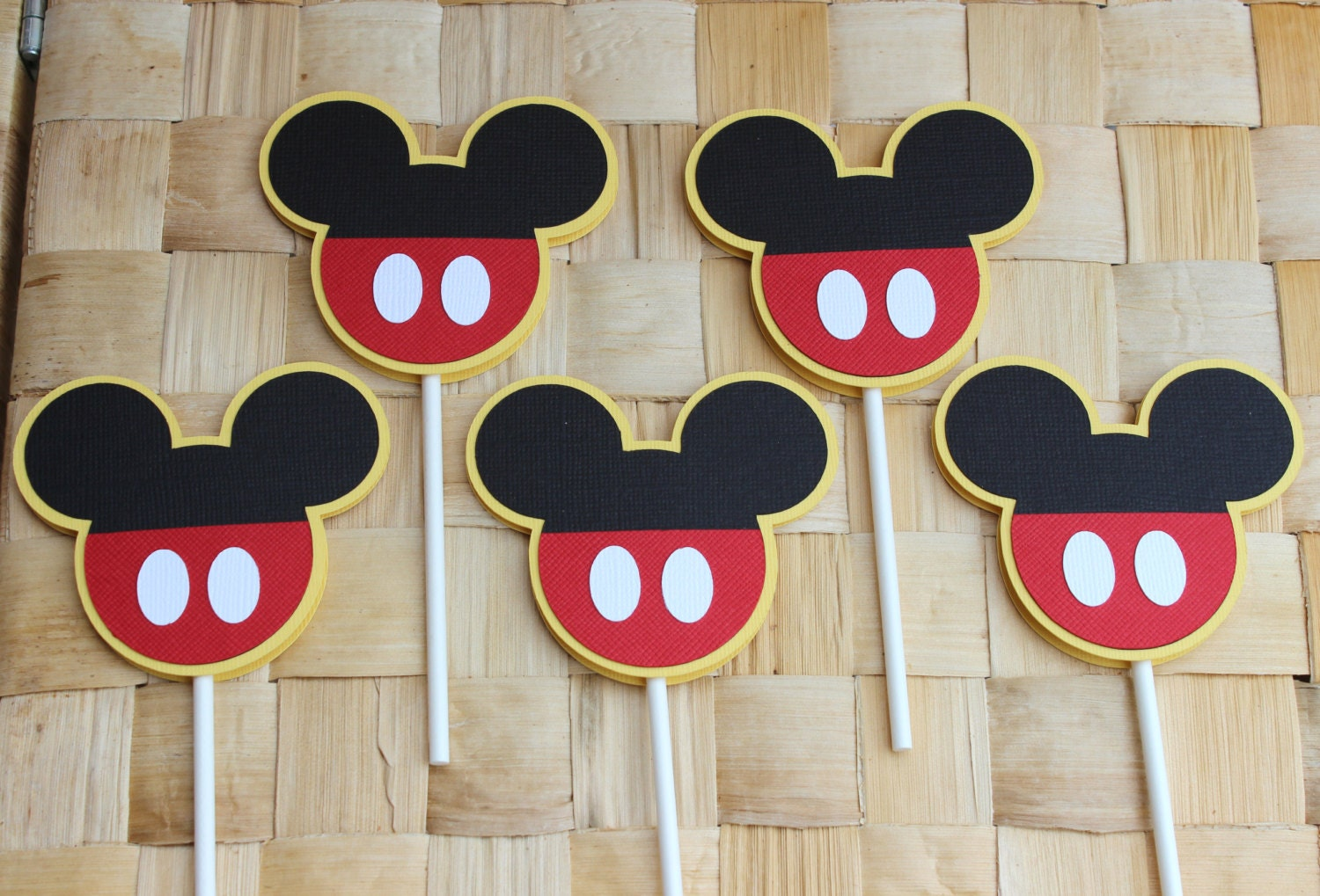 Mouse Cupcake Toppers 12