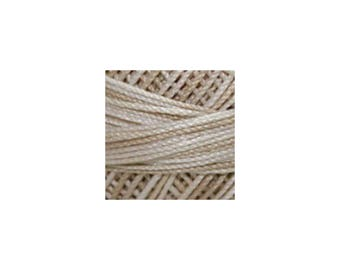 Lizbeth Thread Size 20 Variegated: #168 Latte Foam