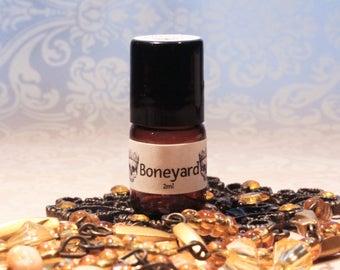 BONEYARD™ Miniature Roll-On Perfume / Handmade Earthy Perfume Oil / Cemetery Perfume  / Handmade Perfume Oil / Gothic Perfume Oil