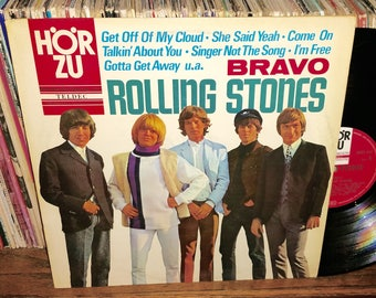 The Rolling Stones Bravo Vintage Vinyl German Import Record