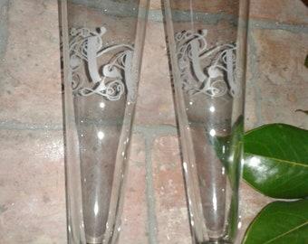 Engraved beer glasses/engraved beer glasses