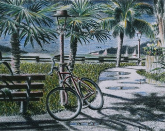 The Oceanside Bike Path