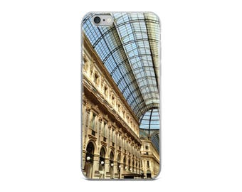 Milan Galleria iPhone Case, makes a great gift for women, men, teens and travelers