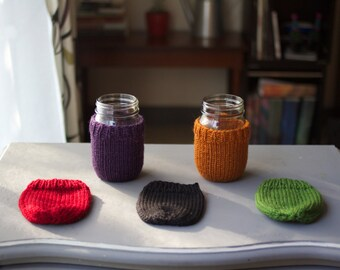 CUSTOM Mason Jar Cozy