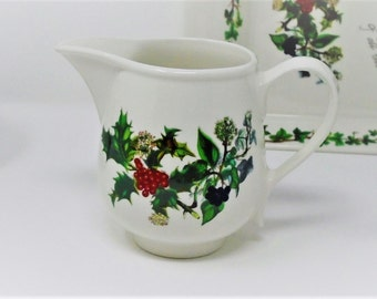 Portmeirion Holly & the Ivy Milk Jug