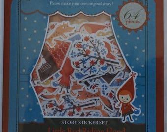 Shinzi Katoh Little Red Riding Hood Sticker Sack