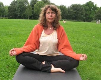 yoga fleece shrug