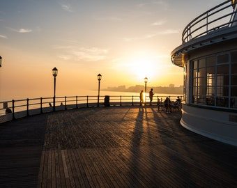 Sunset on one of England's Pier's on the Southern Coast