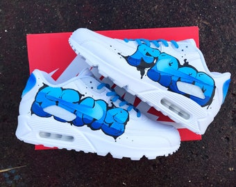 Graffiti style nike air max 90
