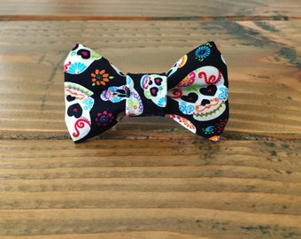 Sugar Skulls Bow Tie for dogs & cats