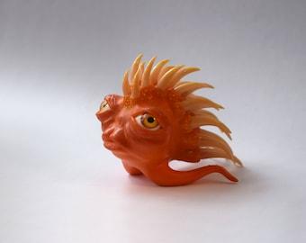 "Figurine ""cross-eyed hedgehog named Innokenty"""