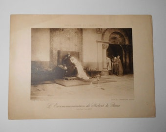 Free shipping-Ancient Art Print, Luxembourg Museum