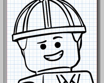 Emmet Lego Character Cameo Silhouette File