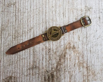 Wrist Compass, Personalized Wrist Compass, Mens Compass Watch, Fathers Day Gift, Valentines Day Gift, Mens Compass