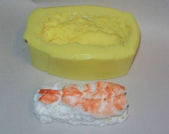 Shrimp Sushi Soap & Candle Mold