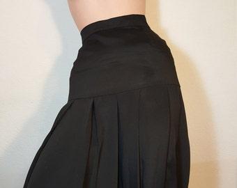 FREE  SHIPPING  Chanel Silk  Skirt