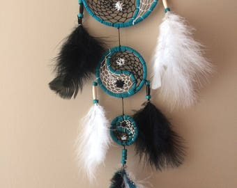 Yin and Yang 3 Tier Dream Catcher