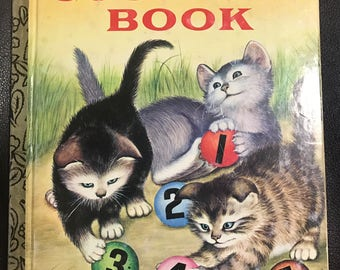 My First Counting Book Little Golden Book 1982 Lilian Moore Garth Williams