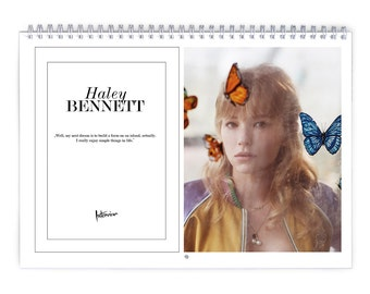 Haley Bennett Vol.1 - 2018 Calendar