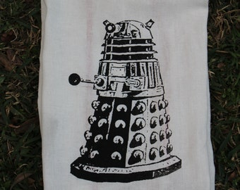 Dalek Tea Towel