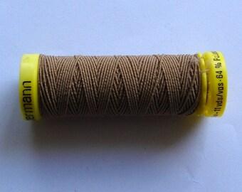"""Thread for shirring """"gütermann"""" Brown"""