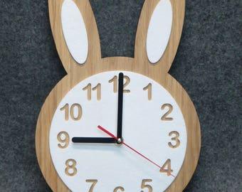 Baby Wall Clock, Unique Wall Clock, Kids Wall Clock, Baby Room Decor