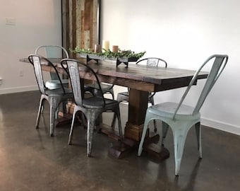 Farmhouse Dining Table - Glam and Chic