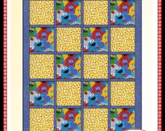 Downloadable Pretty Simple Quilt Pattern Easy 3 Yard Design
