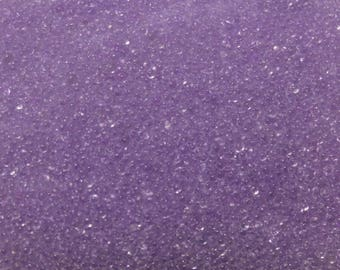 10 grams of Pearlescent purple glass