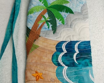 Landscape bag - Palm tree at the ocean
