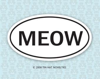 MEOW Sticker