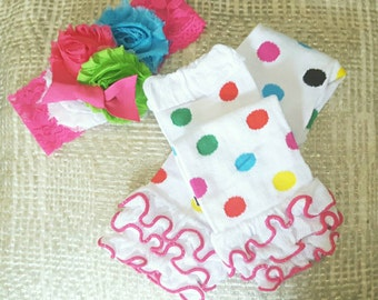 Legwarmers set, Baby shower gift