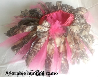 Camo tutu in any color with matching headband