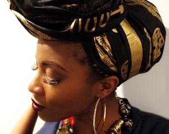 Wedding head wrap, African clothing, African fabric, African head wrap, Head wraps for women, Ankara head wrap, headwraps, African scarves