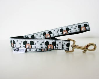 Mickey Mouse Disney Dog Lead Leash Training Matching