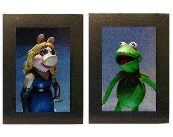 Muppets encadré Photo ensemble Miss Piggy et Kermit jouets
