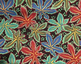 2 yards Lacy Leaf in green from the Kaffe Fassett collection