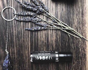 Pale Moonlight Perfume - Natural Botanical Fragrance - Roll On Vegan Oil Perfume 1/3 oz.