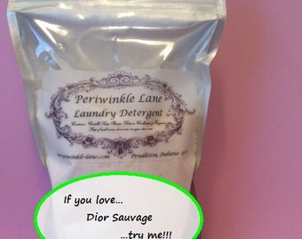 Dior Sauvage type laundry Detergent 11 oz