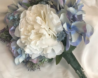 Light Blue Bridal Bouquet