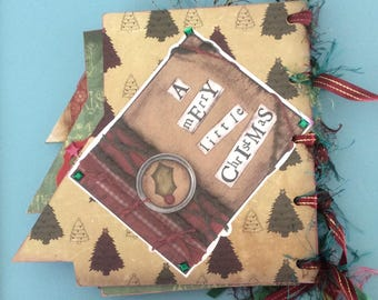Handmade Christmas photo album