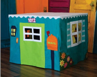 The Card Table Playhouse Sewing Pattern