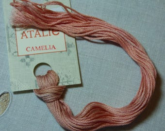 Embroidery FLOSS STITCHED stranded color Camellia (Pinker in reality)