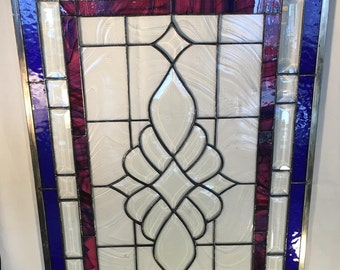 Royal Blue Beveled Panel
