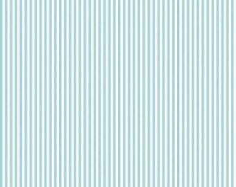 Riley Blake Designs, 1/8 Inch Stripe in Aqua (C495)
