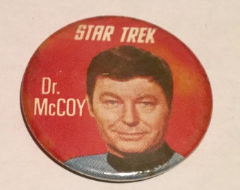 Star Trek Vintage Badge Kellogg's 1969
