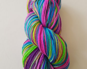 DIANE. the brush-dyed wool skein