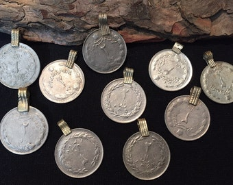 10 Coins,Antique coins,coin Charms,Coins,collectors collectables coins......