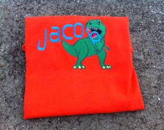 Dinosaur, T-Rex, Triceratops Brontosaurus, Stegosaurus shirt